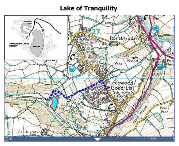 Lake of Tranquility Map